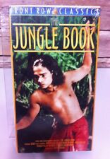 The Jungle Book (VHS/EP, 2001 color) Front Row Classics Family Friendly All Ages