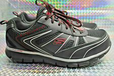 Skechers Men's Work Synergy Fosston Alloy Toe  MISMATE  Size us 12 and 11
