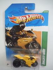 2012 Hot Wheels 52/247 Treasure Hunt Ducati 1098R Motorcycle- Yellow