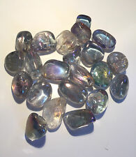 Crystal Aura Quartz Crystal Tumblestone ~One~