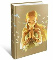 The Legend of Zelda Breath of the Wild Official Guide Hardcover Expanded New