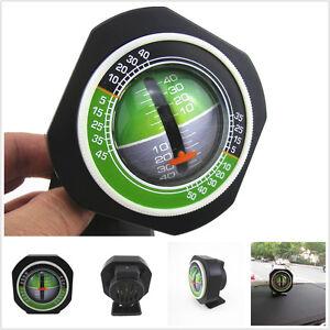 Professional Car Truck Angle Tilt Indicator Balancer Backlight Slope Meter Gauge