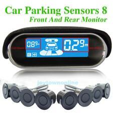 Auto Parksensor Rückfahrwarner Einparkhilfe 8 Sensoren Hinter/Vorder Ansicht