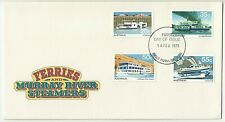 1979 FIRST DAY COVER ISSUE FDC 'MURRAY RIVER FERRIES & STEAMERS' GREAT CONDITION