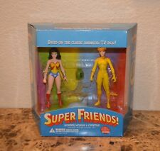 Wonder Woman & Cheetah Deluxe Action Figure Set Super Friends Vintage DC heroes