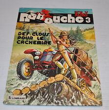 NANOUCHE #3 RENOY BD French Comic Book LOMBARD 1982