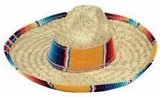 Child Salsa Spanish Mexican Fiesta Festive Sombrero Straw Hat Costume Accessory