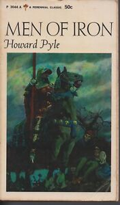 FICTION , MEN OF IRON by HOWARD PYLE