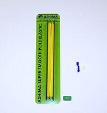 ASHIMA Pole elastico verde Taglia 12-14 con connettore libero, Bush e tappo