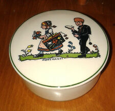 Villeroy and (&) BOCH HANSI D'ALSACE Hansel et Gretel porcelaine bijou pot