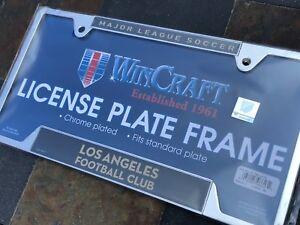 1 LAFC Los Angeles Football Club - Chrome Metal License Plate Frame
