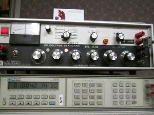 EDC MV106G Voltage Standard TESTED 6 decades 10mV 100mV 10V ranges Krohn Hite