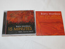 Barry Manilow 15 Minutes Fame Can You Take It? CD with Bonus CD 2011 SE002