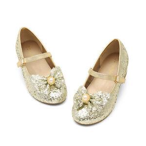 DREAM PAIRS Kid Girls Flat Shoes Toddler Shoes Wedding Princess Dress Party Shoe
