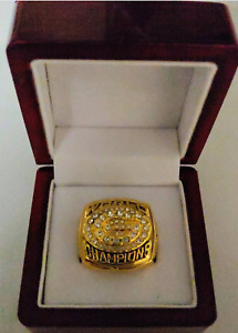 Brett Favre - 1996 Green Bay Packers Custom Super Bowl Ring WITH Wooden Box