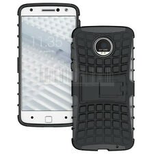 Armor Shockproof Rugged Rubber Protective Hybrid Hard Kickstand Phone Case Cover