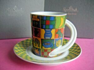 1 Rosenthal - 1Cupola Espressotasse Sammeltasse Nr. 31--neuwertig Kahane