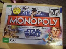 Monopoly Star Wars The Clone Wars Edition! Yoda complete