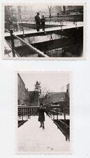 Foto Leipzig Connewitz 1940 Prinz-Eugen-Straße eventuell Brücke über Mühlpleiße