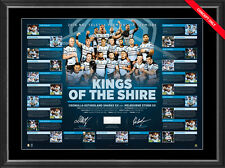 Cronulla Sharks Signed 2016 Premiers Kings of the Shire Print Framed Paul Gallen