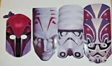 Star Wars Party Favors Masks 9 Masks With Elastic
