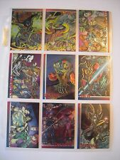 WIZARD  TRADING CARDS SERIE III SPAWN   ETC.....   9 CARDS  CHROMIUM
