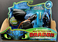 "How To Train Your Dragon HICCUP & TOOTHLESS 7"" Action Figure Dreamworks 2018"