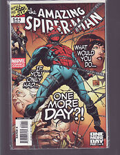 AMAZING SPIDER-MAN #544 ONE MORE DAY (MARVEL) UNREAD