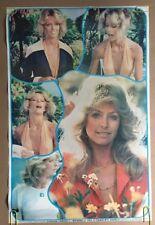 Farrah Fawcett vintage poster Jill Charlie's Angels Original Television pin-up
