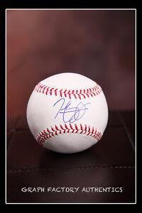 GFA Boston Red Sox HENRY OWENS Signed MLB Baseball H1 COA
