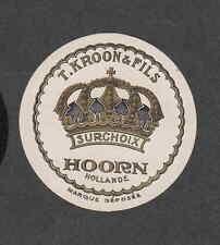 Ancienne  petite  étiquette  Fromage Hollande BN1909 Couronne