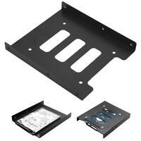 2,5 Zoll zu 3,5-Zoll-SSD HDD-Metall-Adapter-Halterung Festplattenlaufwerk