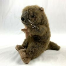 Ganz Skipper Sea Otter Brown Plush Stuffed Animal Vintage Toy