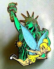 Disney's Tinker Bell with Statue of Liberty LE 250 Pin