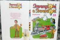 LIBRO RAGAZZI DE AGOSTINI JUNIOR VINTAGE 90-INVENZIONI E INVENTORI 25,STEPHENSON