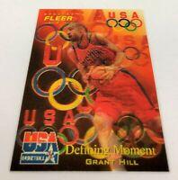 1996 Fleer USA Basketball Grant Hill #22 HOF NM+