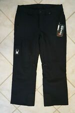 NWT MEN'S SPYDER SNOWBOARD SKI PANTS Size L Troublemaker Pant Thinsulate Black