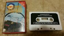 Wing Commander Video Game Cassette Commodore 64 C64/C128 💜💜💜 FREE POST