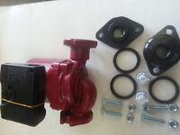 "Outdoor Wood Furnace Liquidus LPC15  3 Speed circulation Pump with 1 "" flange"
