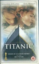 Titanic VHS Video Tape
