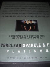 Everclear 1996 Promo Poster Ad Best Stories - No Words