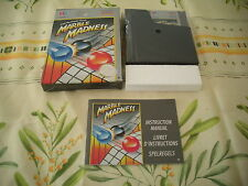 >> MARBLE MADNESS TENGEN NINTENDO NES EURO PAL COMPLETE IN BOX! <<