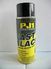 Pj1 Gloss Black Motorcycle Paint Frame Metal Tank Swingingarm Motocross Trials