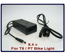 T6 / P7 Bike Light 8.4v 2A Automatic Battery Charger