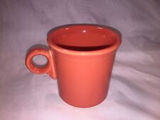 Homer Laughlin Fiesta Ring Handle Tom & Jerry Mug Cup Persimmon Red Orange