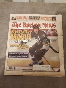 The Hockey News November 29 2002 Vol. 56 No. 13 Mario Lemieux Cover