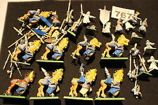 Games Workshop Warhammer High Elves Ellyrian Reavers Warriors Job Lot Army Spare