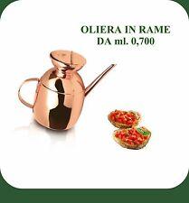 OLIERA IN RAME  DA 0,700 ML.