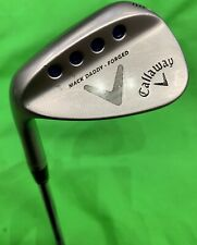 CALLAWAY MACK DADDY FORGED 52 DEGREE GAP WEDGE LEFT HANDED GOLF CLUB 24HR DELIVE