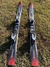 "New listing Rossignol Rebel 110cm 43"" Downhill Ski'S, Rossignol Binding Comp J Junior Youth"